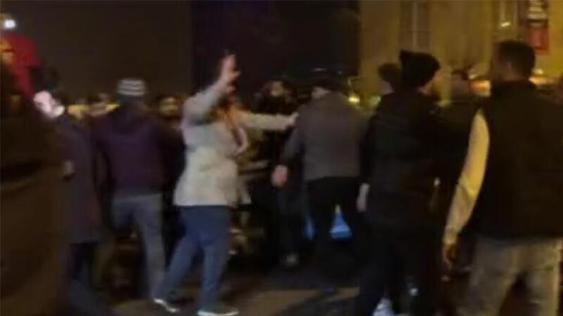 Esenyurt'ta taksicilerle turizm şoförleri arasında kavga