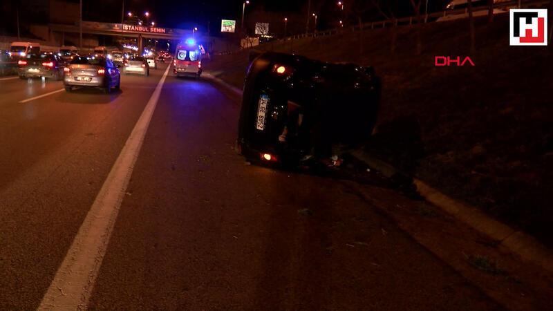 Şile yolu'nda trafik kazası