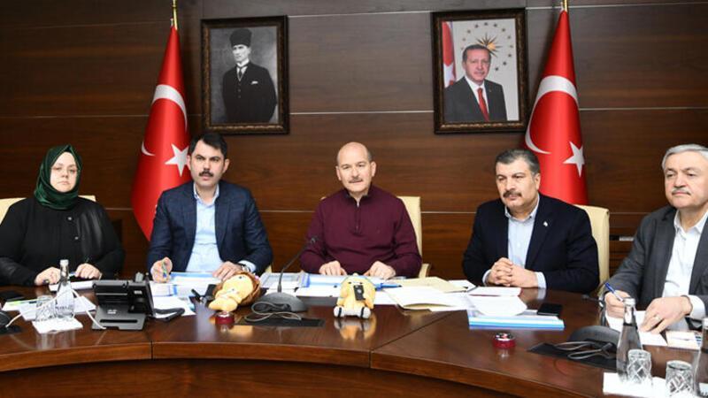 Bakan Soylu: Elazığ ve Malatya'da okullar 10 Şubat'ta açılacak