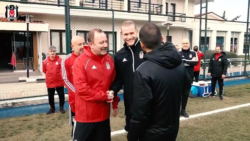 Beşiktaş'ta Sergen Yalçın yönetiminde ilk antrenman