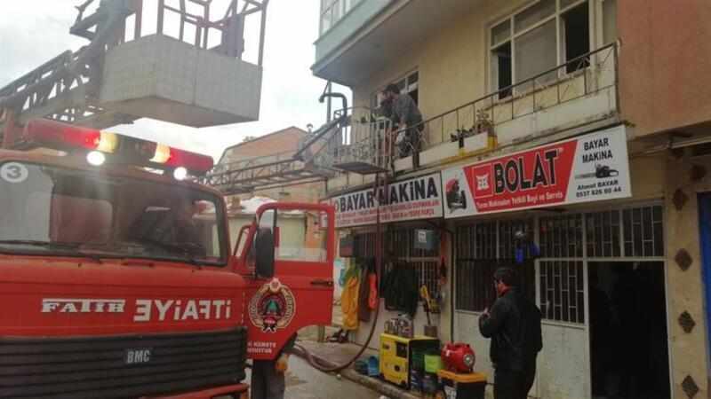 5 kardeş yangınların arasında kaldı, biri hayatını kaybetti