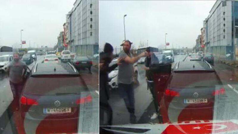 Hasta almaya giden ambulanstakilere saldırı girişimi
