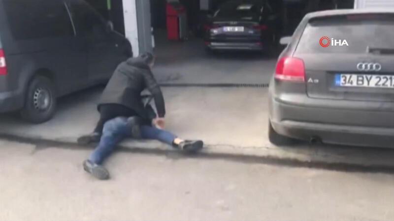 İstanbul'da nefes kesen hırsızlık operasyonu