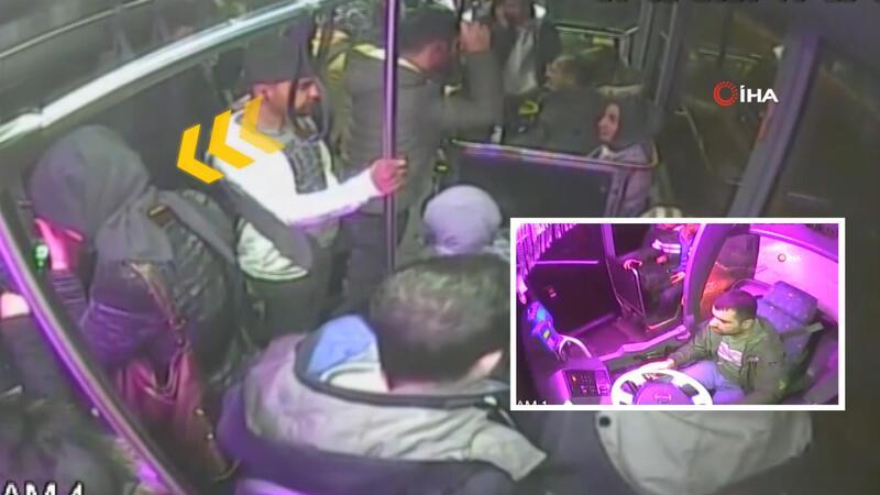 Fenalaşan yolcuyu şoför hastaneye yetiştirdi