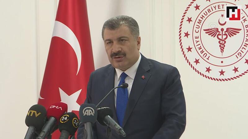 Sağlık Bakanı Fahrettin Koca açıklamalarda bulundu