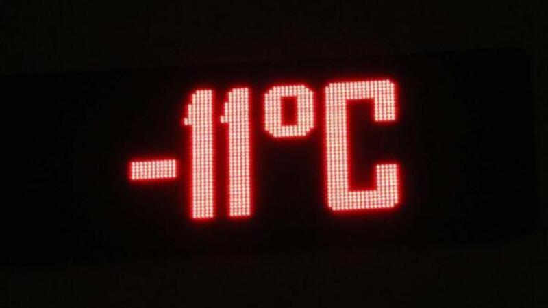 Ankara eksi 11 derece ile buz tuttu