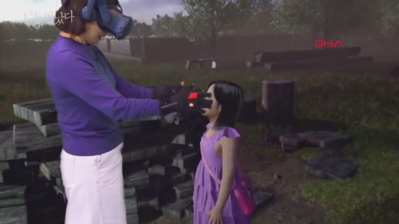 """Ölen kızının """"sanal gerçeklik""""teki görüntüsüyle görüştü"""
