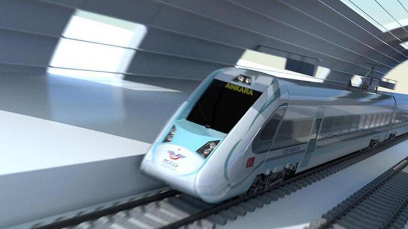 Milli elektrikli trenin gövde üretimleri yapılmaya başladı