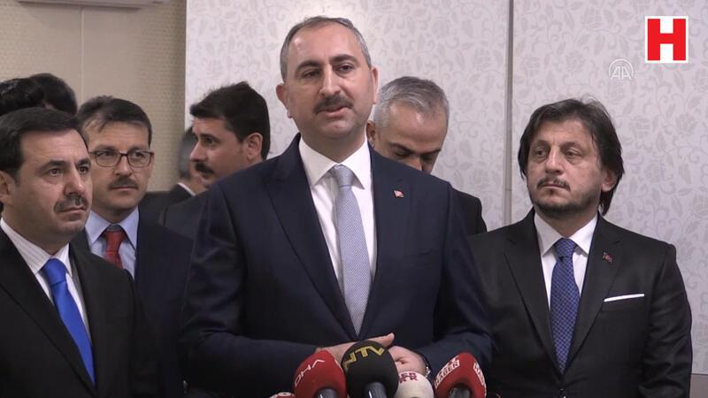 Adalet Bakanı Gül'den 'Kadir Şeker' açıklaması