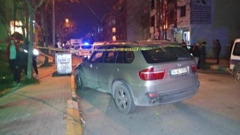 Beylikdüzü'nde otomobildekilere silahlı saldırı