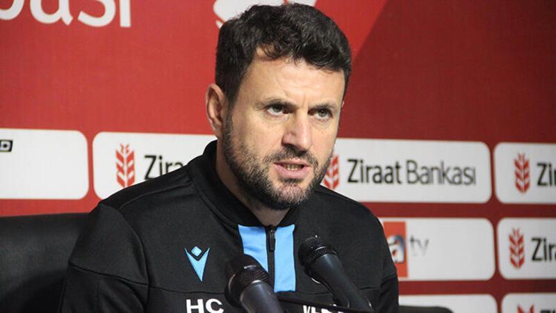 Trabzonspor Teknik Direktörü Hüseyin Çimşir açıklamalarda bulundu
