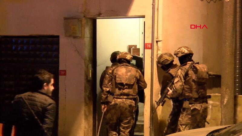 İstanbul'da suç örgütüne eş zamanlı operasyon