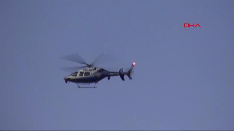 Son dakika haberi: Uyuşturucu satıcılarına hava destekli operasyon