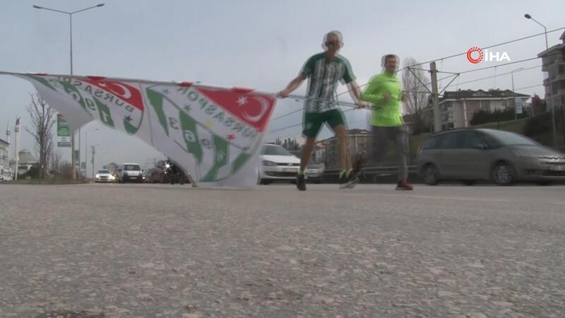 Sevgililer Günü'nde Bursaspor'a koştular