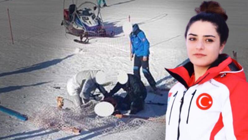 Milli kayakçı yarışma için gittiği Slovenya'da kahraman oldu