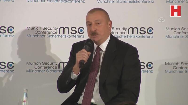 Tarihte ilk kez Ermenistan ve Azerbaycan liderleri kamuoyu önünde tartıştı