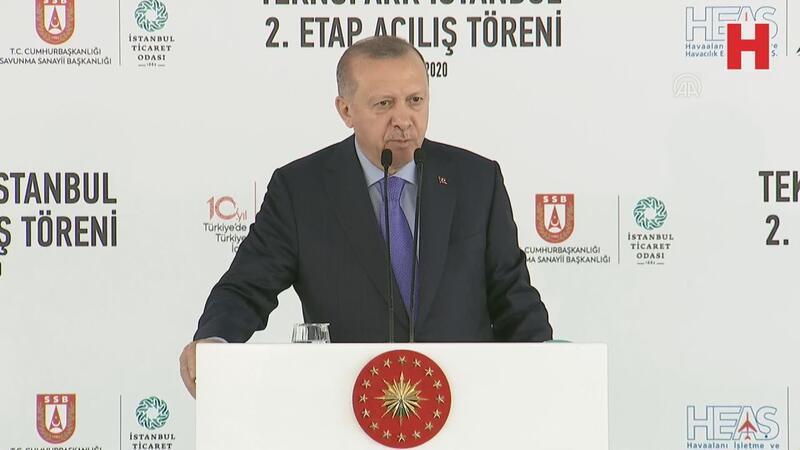 """Cumhurbaşkanı Erdoğan: """"Türkiye'nin geleceği teknoloji ve inovasyondadır"""""""
