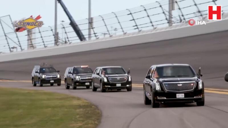 Trump Daytona 500 yarışlarının startını verdi