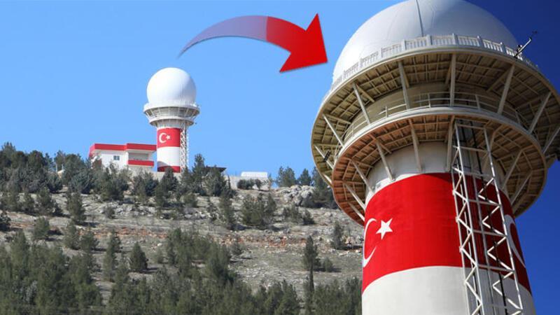 Son dakika: Milli Gözetim Radarı, Gaziantep'te kuruldu