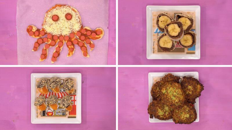 Çocuklar için lezzetli atıştırmalıklar!