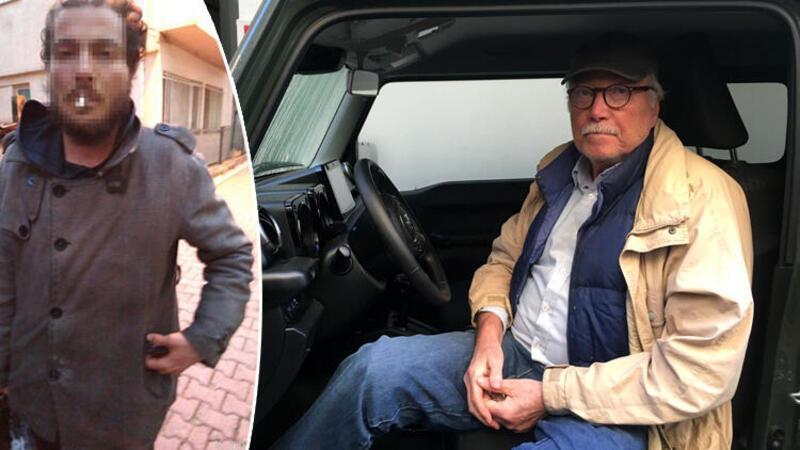 Beyoğlu'nda ünlü profesörün cipine giren hırsızı eşi yakaladı