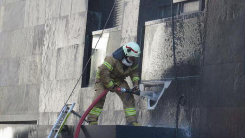 Son dakika haberi: Kadıköy'de 9 katlı binada yangın