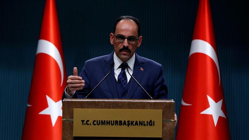 """Kalın: """"İdlib'de temel çizgimiz Soçi mutabakatına geri dönülmesi"""""""