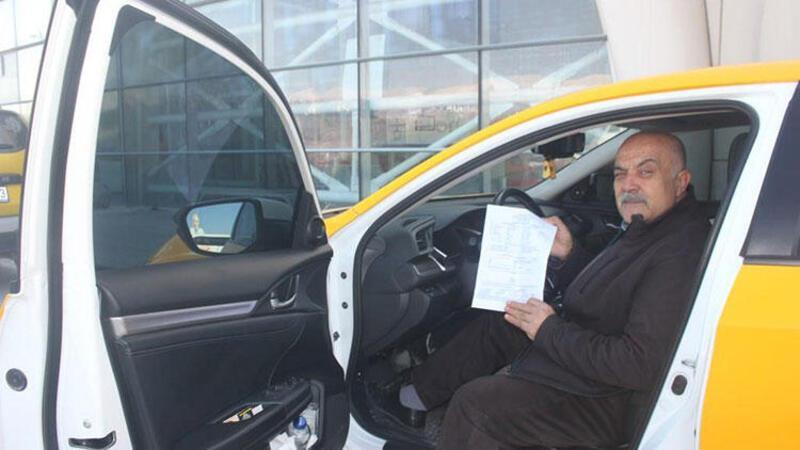 Kaçak göçmen taşıyan taksi şoförüne 7 bin TL ceza