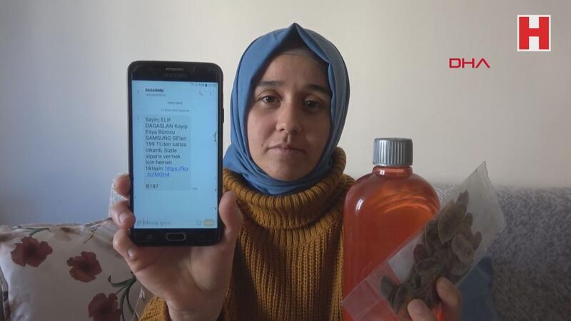 Cep telefonu almak istedi, paketten cinsel içerikli solüsyon çıktı