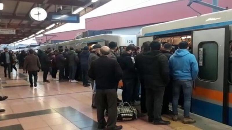 Son dakika: İstanbul'da metro seferlerinde aksama