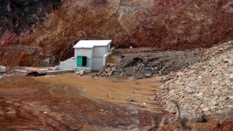 Uşak Bahadır Barajı'nda korkutan çatlak