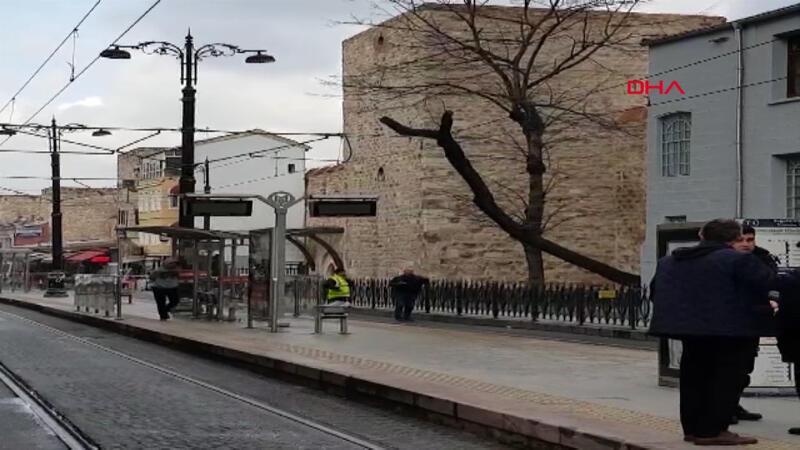 Son dakika haber... İstanbul tramvay seferlerinde aksama