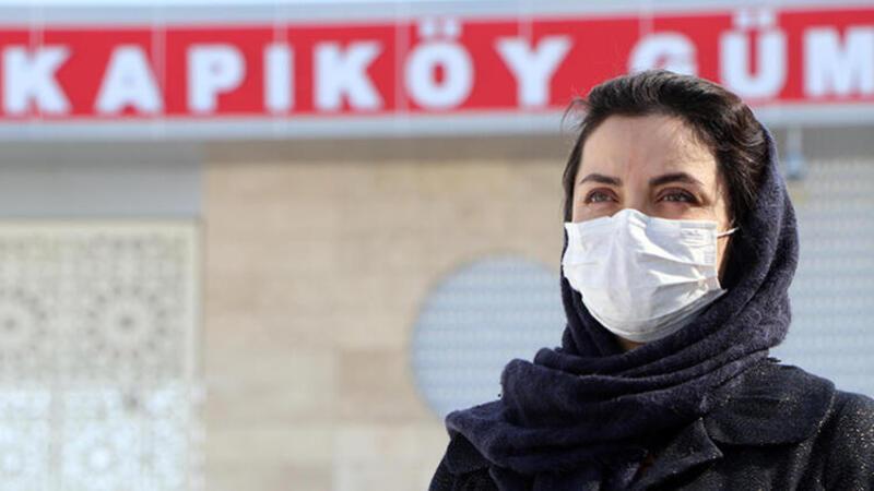 Van'da Kapıköy Gümrük Kapısı'nda 'koronavirüs' önlemi
