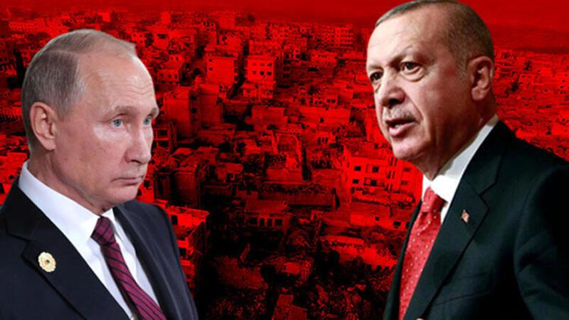 Son dakika... Cumhurbaşkanı Erdoğan ile Putin'den İdlib görüşmesi
