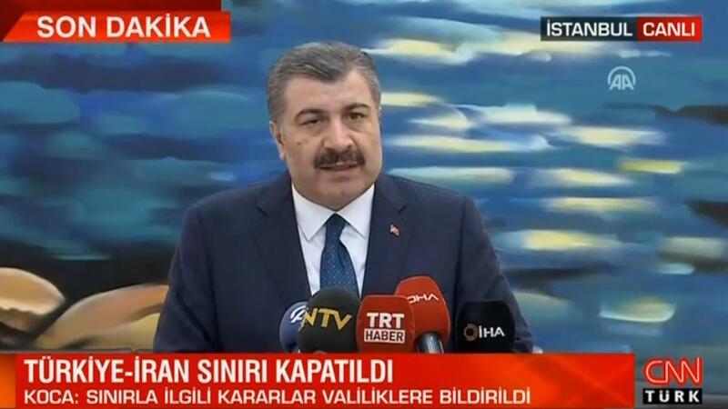 Son dakika: Türkiye koronavirüs nedeniyle İran sınırını kapattı