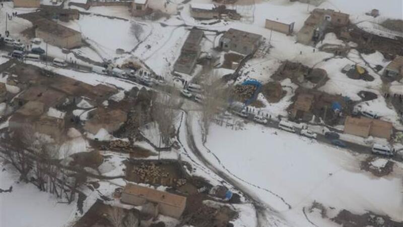 Van Başkale'de okullar 15 gün tatil edildi
