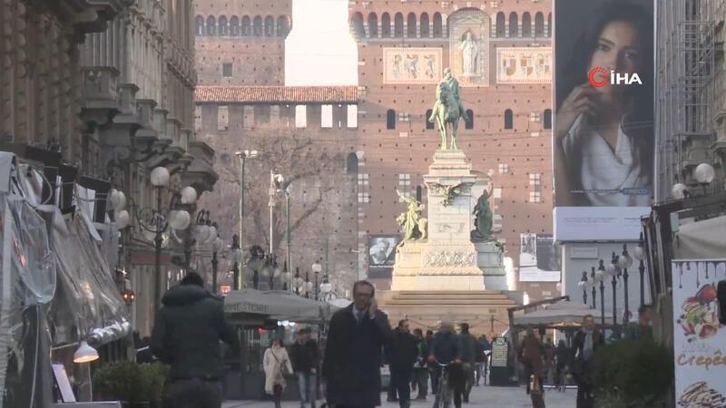 İtalya'da korona virüsü tedbirleri