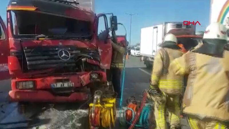 Son dakika: TEM Otoyolu'nda zincirleme kaza