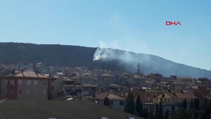 Son dakika haberi! Sultanbeyli'de orman yangını