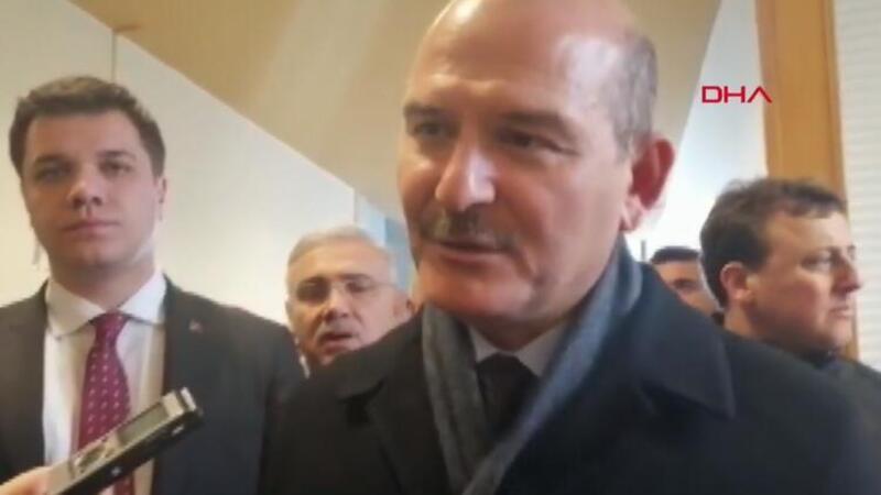 Bakan Soylu açıkladı: 'Türkiye'den İran'a geçiş olabilir ama Türkiye'ye dönüş olmaz'