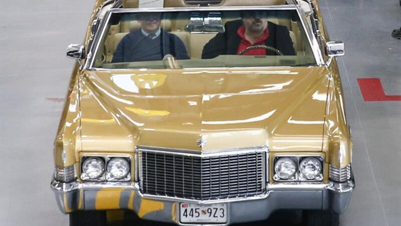 Volkan Konak, Elvis Presley'in koleksiyonundan aldığı klasik otomobiline kavuştu.