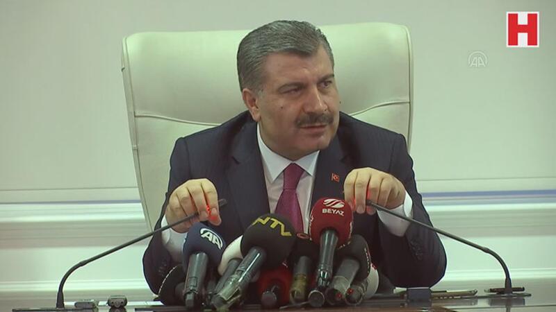 Bakan Koca, şüpheli uçağın Türkiye'ye indirilmediğini açıkladı