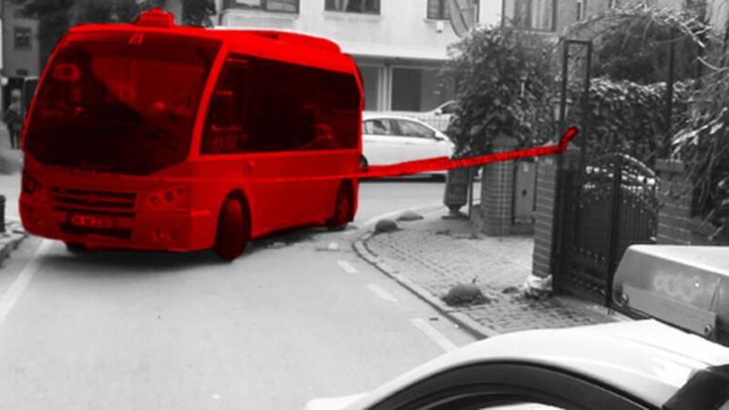 Güzergah dışına çıkan minibüsün çarptığı yaşlı kadın öldü