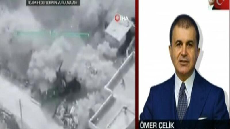AK Parti Sözcüsü Ömer Çelik'ten İdlib'teki saldırı sonrası ilk açıklama