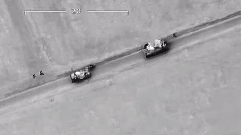 Son dakika... Yeni görüntüler ortaya çıktı: İdlib'de rejim hedefleri böyle vuruldu!