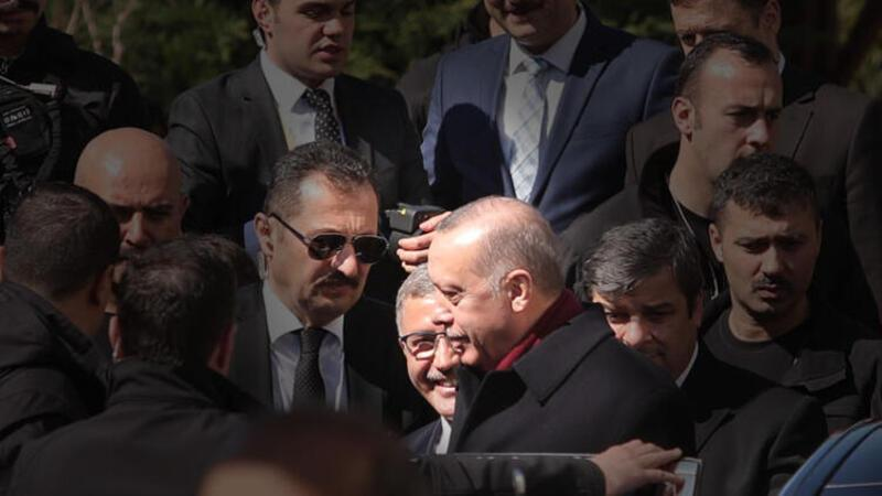Cumhurbaşkanı Erdoğan'a cuma namazı sırasında termal kameralı önlem