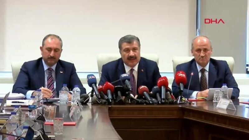 Türkiye'deki corona virüse yakalanan kişi sayısı 5'e yükseldi