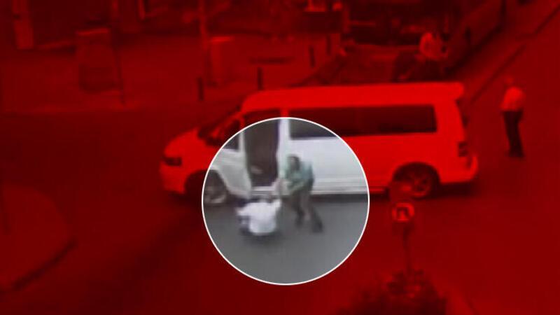 Gaziosmanpaşa'da öldüren yumruk kamerada