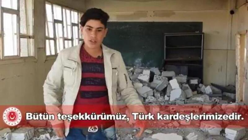 Barış Pınarı'nda açılan okul sayısı 390'a ulaştı