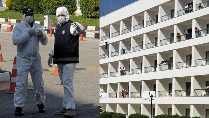 KKTC'de karantinaya alınan oteldeki Türk rehberler, son durumu anlattı